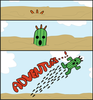 Cactuar Adventure! by CheesyChan