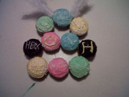 Harry Potter Cupcakes by Lolli333