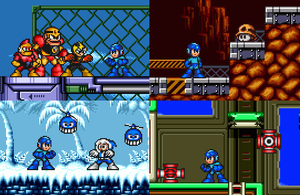 Mega Man Redone In Mega Man X Style by mitchell00