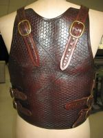 Battle-worn Tribal Armour 3 by PeacefulMynd