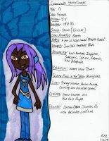 OC Profile- Genevieve Stormcaster by Millie-the-Cat7