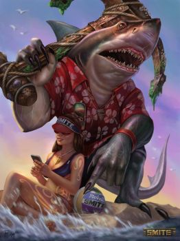 Sobek Land Shark by PTimm