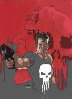 the punisher by AllJeff
