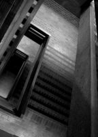 Stairs at a Library by symbiandj