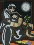 Sesshomaru X Rin Day 2 Cuddling by SakuraKage91