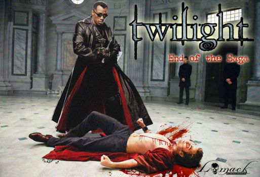Blade ends the Twilight Saga by L0M2CK
