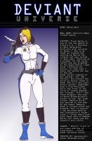 Deviant Universe - Agent White Wolf by Branded-Curse