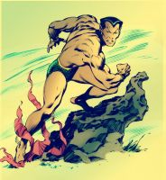 namor submariner john buscema by namorsubmariner