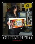 Slash loves Guitar Hero by theunseen50