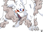 Sesshomaru Dog Form Base 2 by XemXemStar
