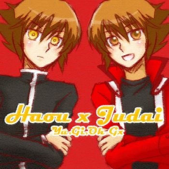 Haou and Judai by phiz4420