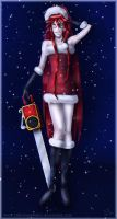 Happy Holidays Grell 2012 by fallnangeltears