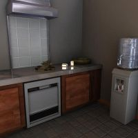 3D Kitchen Realistic by HaagNDaaz