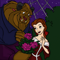 Beauty and the Beast by Writer-Colorer