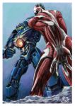 Attack on Pacific Rim by JustSnake
