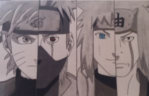 Naruto Shippuden- Four Generations by gamergirl108