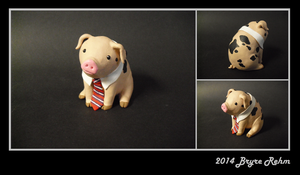 Business Pig by Eryrb