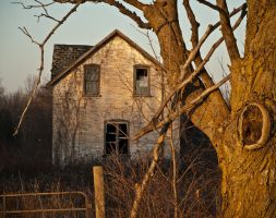 Sunset on Old House by Snoopee63