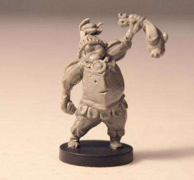 Game Miniature: Sir Example (wip) by ShadowSpyProductions