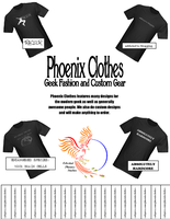Phoenix Clothes Poster by cpi