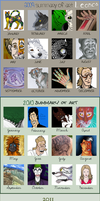 2013 - 5 Years in Art by Leonca