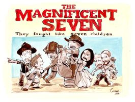The Magnificent 7 Children by caanantheartboy
