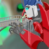 Welcome Home, Optimus by candlehat