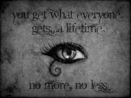No more, no less by UmbraSeraph