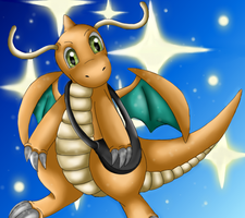 Pokemon: Dragonite by Ink-Leviathan