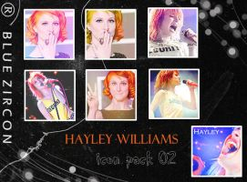 Hayley Williams icon pack 02 by bluezircon-graphics