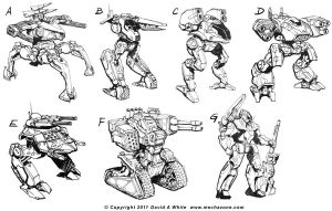 Mecha Zone 1.5 sketches part 1 by Mecha-Zone