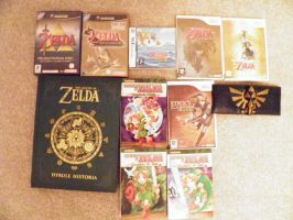 My zelda collection by RJWoody