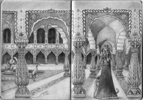 A Palace of Hindustan by adiehltwin