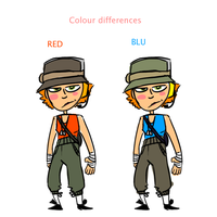 Colour Ref for FemScouts by immessedup