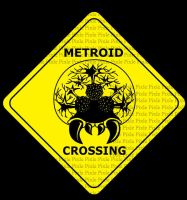 Game Signs - Metroid Crossing by pixlem