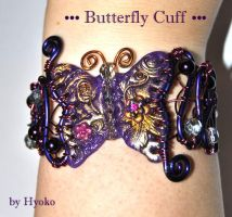Butterfly Cuff by Hyo-pon