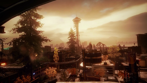inFAMOUS Second Son - City Tower by Legan666