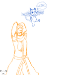 Natsu and Happy by amy23000