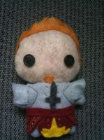 Dragon Age: Alistair Plushie by CheesyHipster