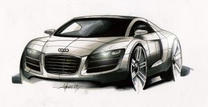 Audi R8 R by Frenchtouch29