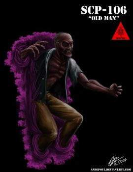 SCP-106 - The 'Old Man' by andepoul
