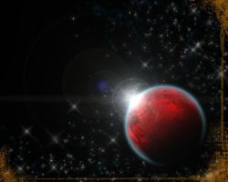 Red Planet Flare by ZhioN360