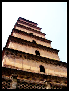 wild goose pagoda by missdodgers