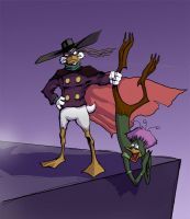 darkwing duck by Flick-the-Thief
