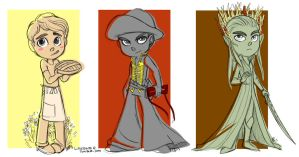 Evolutions of Lee Pace by littledigits