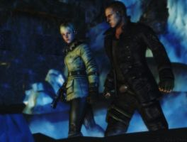 Resident evil wallpaper - Jake and Sherry 3 by ethaclane