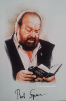 Bud Spencer by signedportraits