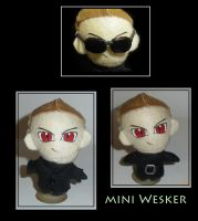 mini Wesker by MaEmon-knows