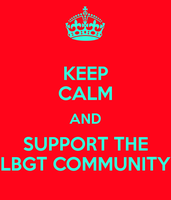 Keep calm and support the LGBT Community by asymmetrical-wings