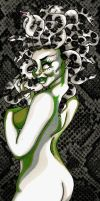 Medusa Pin Up by androidfink